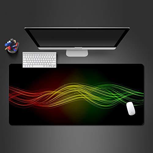 HonGHUAHUI Rainbow Sonic Mouse Pad hoogwaardige gaming-computer-muis-tafelset voor gamers, grote tafelsets, 600X300X2MM