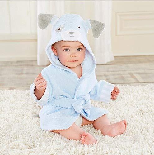 0-6T Hooded Animal Modellierung Baby Bademantel/Cartoon Baby Spa Handtuch/Charakter Kinder Bademantel/Baby Strandtücher-Dog-2-4