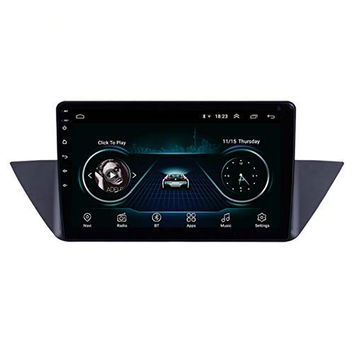 Navigazione GPS stereo da 10,0 pollici per Android 9.0 per BMW X1 E84 2009-2013 con supporto WIFI Bluetooth USB SWC 1080P