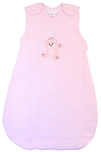 Baby Sleeping Bag - Wearable Blanket, 100% Cotton, Pink...