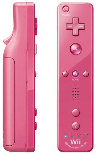 Télécommande Wii Plus - rose