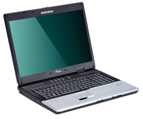 Fujitsu Amilo Xa 2528 43,2 cm (17 Zoll) WXGA Laptop (AMD Turion 64 X2 TL 56 1,8GHz, 3GB RAM, 160GB HDD, nVidia 8600M GS, DVD+- DL RW, Vista Home Premium)