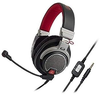 audio-technica ATHPDG1 Open-Air Premium Gaming Headset Red/Gray/Black