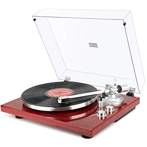 1byone Belt Drive Turntable with...