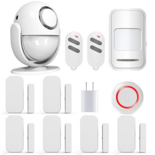 PANNOVO Wireless Home Security Alarm System Door Alarm System for Home DIY Kit, App Control by iOS...