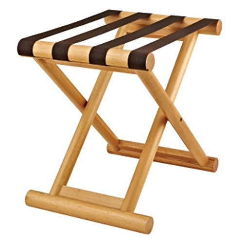 Lowest Prices! Folding Luggage Rack Folding Luggage Rack Professional Hotel Suitcase Holder Travel B...