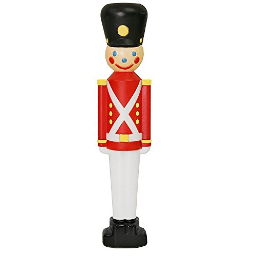 SET OF 2 - 33' TOY SOLDIER BLOW MOLD OUTDOOR/INDOOR CHRISTMAS DECORATIONS