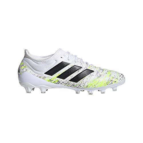 adidas Copa 20.1 AG, Zapatillas de fútbol Hombre, Ftwwht/Cblack/Siggnr, 39 1/3 EU