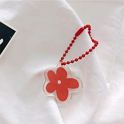 HJCWL Multifunctionele sleutelhanger voor mobiele telefoon, lief fruit, sleutelhanger, ketting, comic, smiley, sleutelhanger, voor hanger, grappig motief