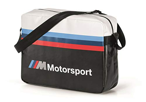 BMW M Motorsport schoudertas waterafstotend laptoptas