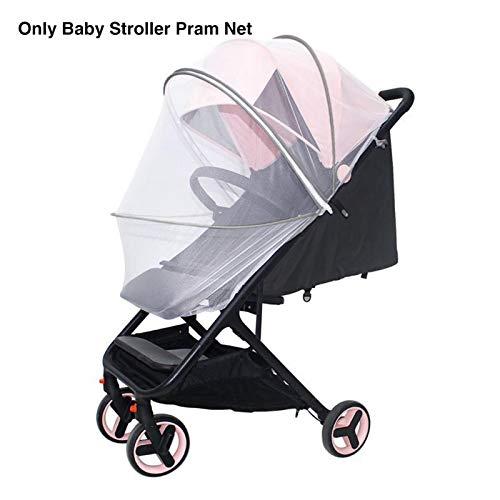 POHOVE Mosquitera para cochecito, mosquitera duradera para bebé, para cochecitos, cunas, juegos y mini cuna portátil para asiento de coche, cochecito, cuna, cochecito de viaje