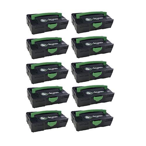 Tanos 10x Micro-Systainer Festool komp. T-Loc Kirchner Edition 31,3x105x65 mm