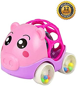 Zhfuys Rattle and roll car Toy