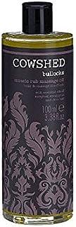 Cowshed Bullocks Muscle Rub Massage Oil 100ml - 牛舎ブロックス筋肉こするマッサージオイル100ミリリットル [並行輸入品]