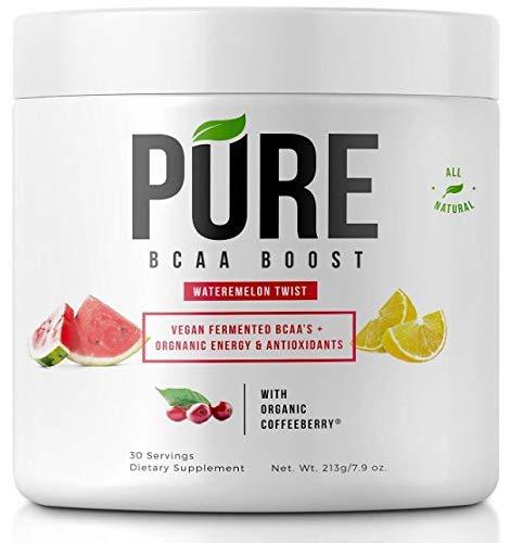 Pure BCAA Boost All Natural Vegan BCAA