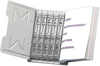 Martin Yale 966RS3G Master Catalog Steel Rack Starter Set, Gray, 6