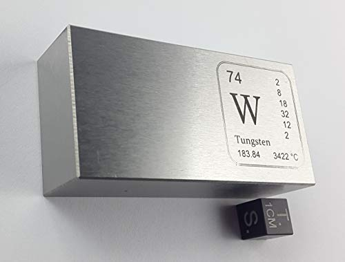 Wolfram-Barren - 915 g - Tungsten bar - > 99,95% W