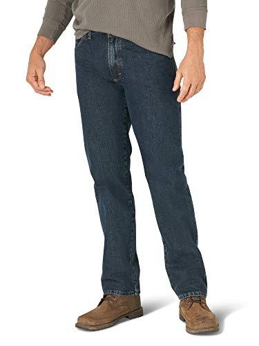 Wrangler Authentics Pantalones Vaqueros clásicos de algodón con 5 Bolsillos para Hombre, Tormenta, 28W x 30L