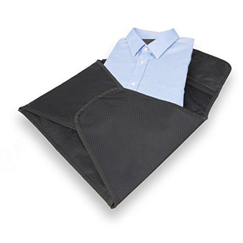 BAGSPERTS™ Hemdentasche   Premium-Kleidertasche zum knitterfreien Transport von Hemd, Bluse oder Sacco   Atmungsaktive Hemdtasche, perfekt für Reisen