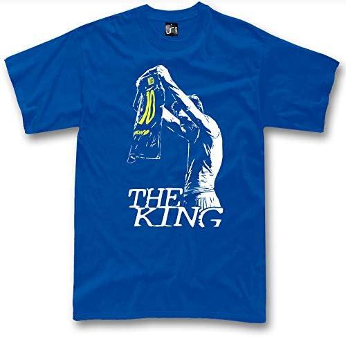 BurnTheBeans Camiseta Lionel Messi The King Barcelona Epic ...