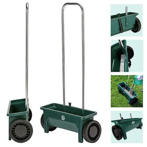Kabalo 12 Ltr Plastic Garden Lawn Seed Salt Grit Spreader Fertiliser...