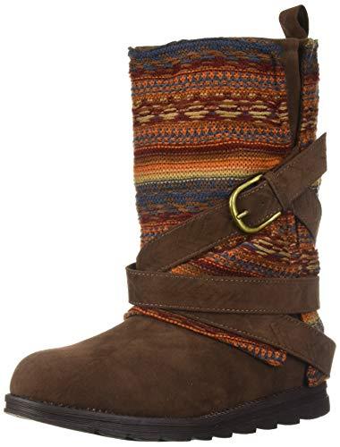 Muk Luks Women's Nikki Boots Fashion, Terra Cotta, 7