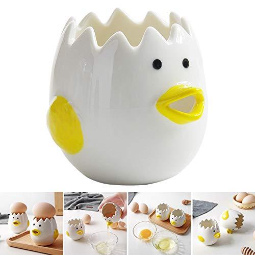 Gizayen Egg Separator, Egg White Yolk Separator Kitchen Gadgets Baking Tool...