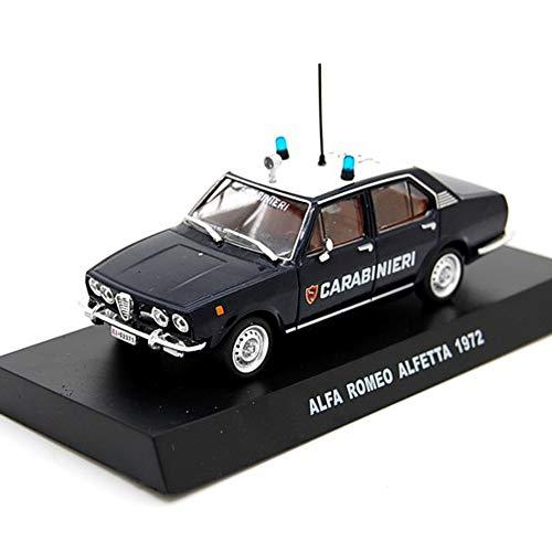 Die Cast Modellino Auto Carabinieri Alfa Romeo Alfetta 1972 - Scala 1:43 – Blu