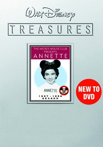 Walt Disney Treasures: The Mickey Mouse Club Presents Annette (Collector s Tin Packaging)