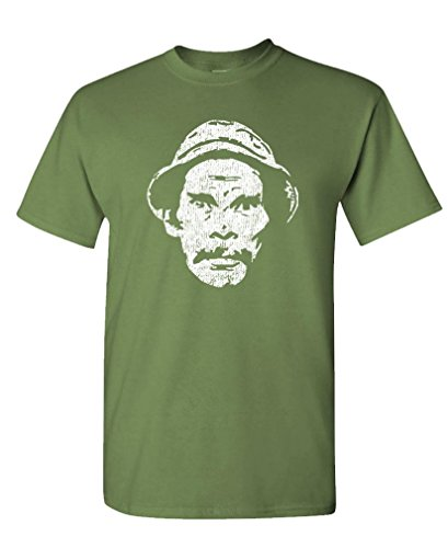 The Goozler Don Ramon - Funny Caramba Comedy Mexican - Mens Cotton T-Shirt, L, Military