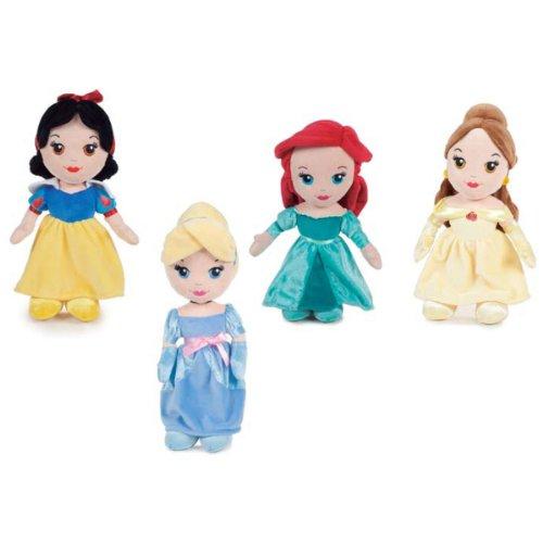 Peluche Princesas Disney soft T3 25cm surtido