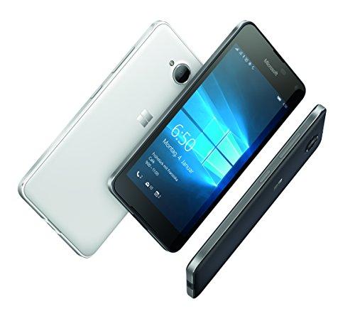 Microsoft Smartphone 4G 12.7 cm (5 pouces) 1.3 GHz Quad Core 16 Go 8 MPix Windows® 10 noir
