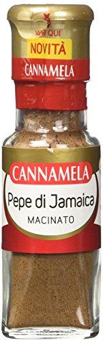Cannamela, Linea Maxi Oro, Pepe di Jamaica Macinato, Sapore Speziato e Leggermente Piccante, Pimento per Ricette Orientali Dolci e Salate, Confezione da 6 x 56 g