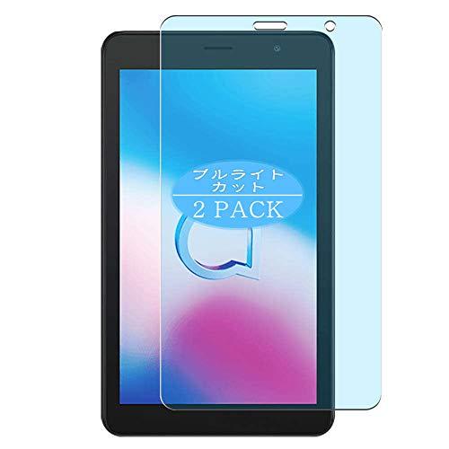 VacFun 2 Piezas Filtro Luz Azul Protector de Pantalla, compatible con Alcatel 1T 7 2020 7', Screen Protector Película Protectora(Not Cristal Templado)
