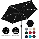 Best Patio Umbrellas - Best Choice Products 7.5ft Outdoor Solar Patio Umbrella Review