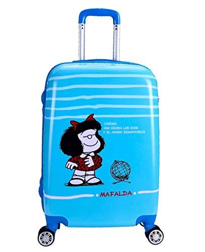 Maleta Mediana 65Cm Mafalda Sky