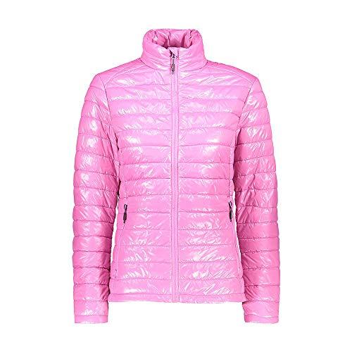 CMP – F.LLI Campagnolo Damen Glänzende und Wasserabweisende Steppjacke Jacket, Orchidea, D38