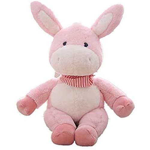 DINGX Plüsch Esel Plüschtier Kissen, niedliche Stofftier Spielzeug, als Weihnachtsgeburtstagsgeschenke, Paar Geschenke Chuangze