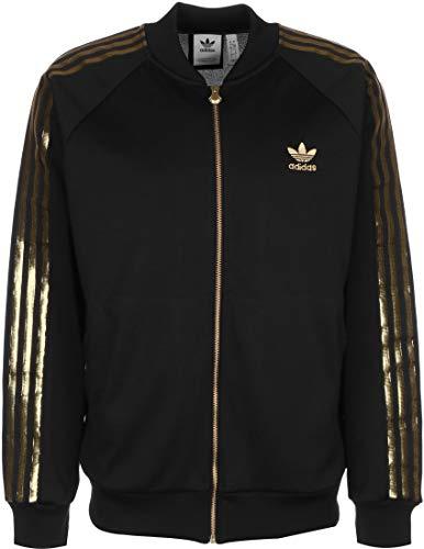 adidas Jacke SST 24 TT Größe: XL Farbe: Black/Gold