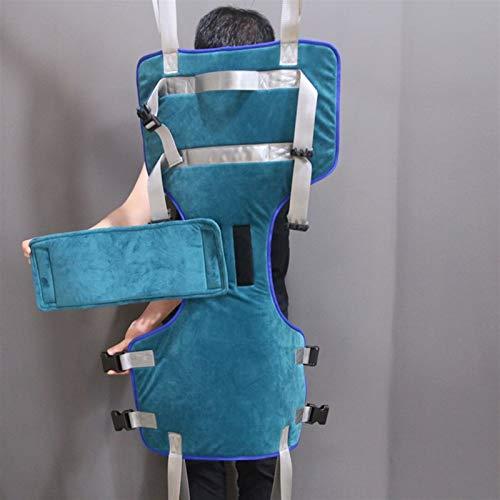 416+6xRPQkL - XIAORANA Arnés para traslados, Arnés de Elevación de Paciente de Cuerpo Completo, para grúa de 4 Pinzas, Superacolchado, para Posicionamiento Y Elevación De La Cama, Enfermería (Dimension : Medium)