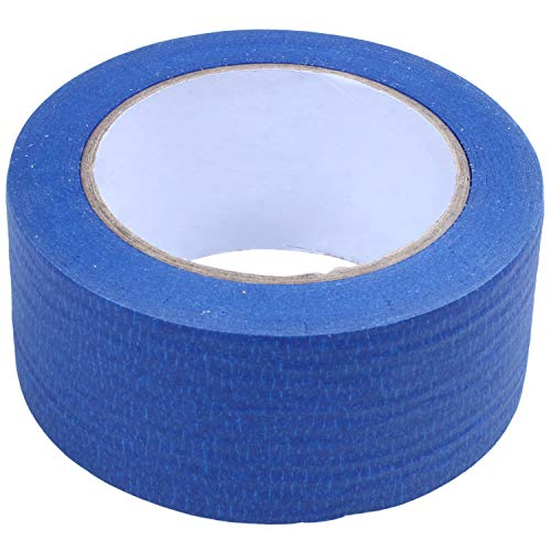 Moligh doll 50M 3D Printer Blue Tape 50mm Wide Bed for Painters Masking Tape