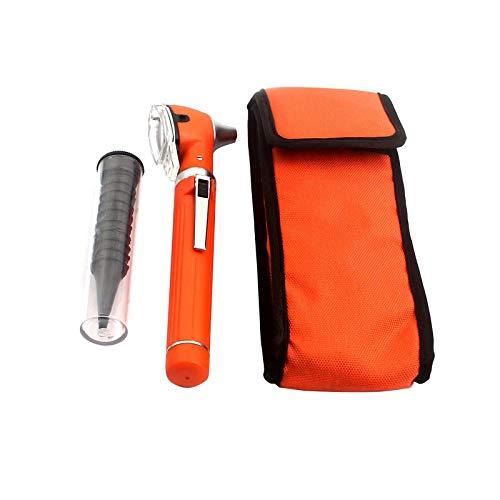 OdontoMed2011® LED Pocket Mini Otoscope Set Orange Color ODM