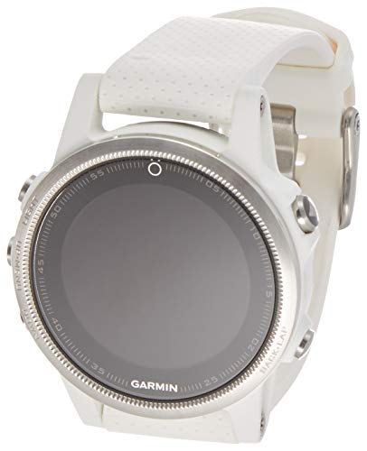 Garmin 010-01685-00 fēnix 5S 42mm Multisport GPS Watch (White with Carrara White Band)