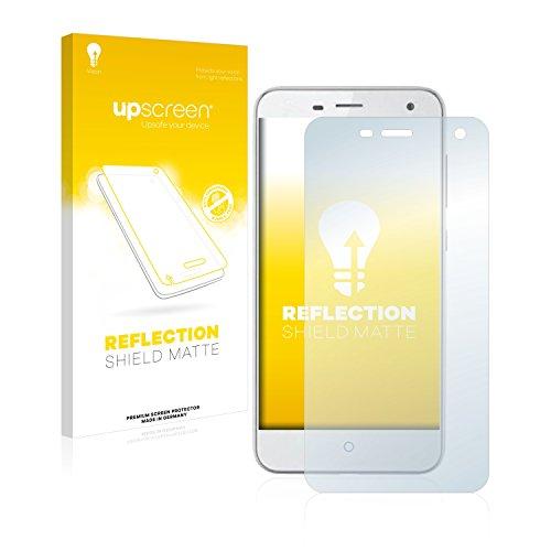 upscreen Entspiegelungs-Schutzfolie kompatibel mit ZTE Blade L3 – Anti-Reflex Bildschirmschutz-Folie Matt