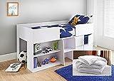 Bedtime Comforts Ltd IKEA ARGOS - Colchón acolchado para cama individual (elástico), varios tamaños (91,4 x 160 cm)