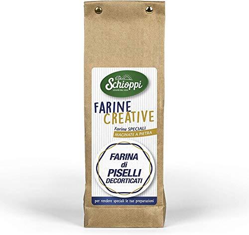 Farina di Piselli decorticati - 350gr - **Spedizione Gratuita sopra i 30€ per tutti i prodotti Legumi Schioppi!