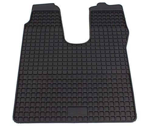 Preisvergleich Produktbild PETEX Gummimatten passend für TGS ab 10 / 2007 Beifahrer Fußmatten schwarz 1-teilig