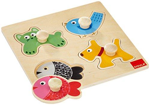 Goula - 53116 - Puzzle animaux domestiques