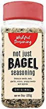 Everything Bagel Seasoning Blend XL Original - Delicious Blend of Sea Salt, Garlic & Onion Flakes, and Sesame Spices - Bagel Allspice, Multi Seasoning Shaker Jar, Keto & Gluten Free Facility