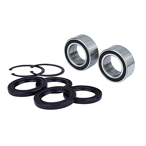 Wheel Bearing Fits For Honda TRX300FW FourTrax 4x4 1988 1990-2000,Replaces # 91051-HC5-003 91051-HC5-004 2Pcs,Dust Seal (40X58X7) 2Pcs Oil Seal (38X50X7) 2Pcs,Circlip (50MM) 2Pcs.